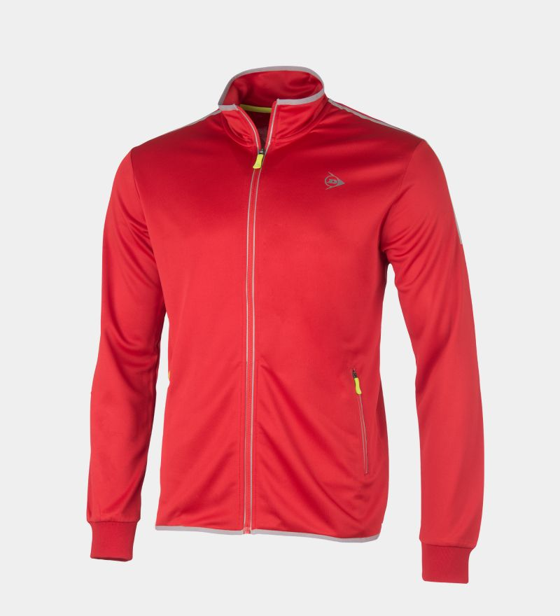Dunlop Club Line Men Knitted Jacket Navy 1